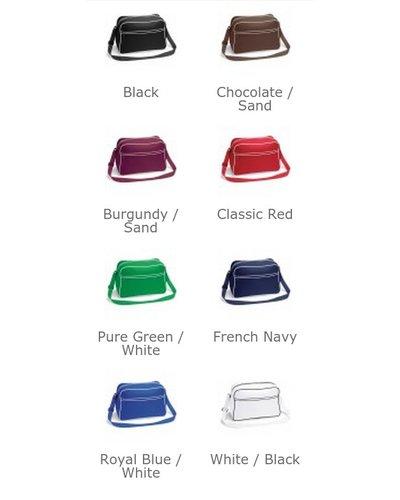 BG14 Retro Shoulder Bag in verschillende kleuren