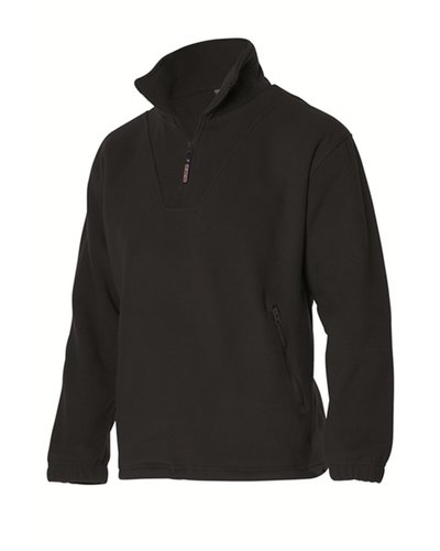 Tricorp FL320 Fleece met korte rits, zwart blauw of grijs