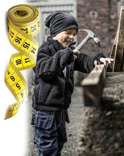 Blaklader Kinderkleding maatinfo