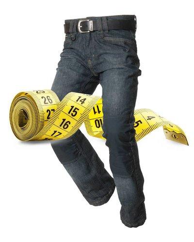 Tricorp Jeans maatinfo
