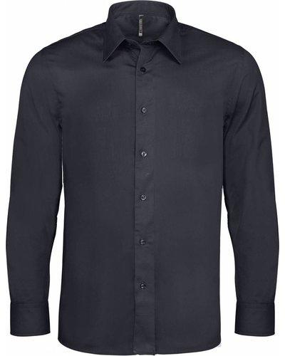 Kariban K529 Heren Stretch Overhemd Lange Mouwen