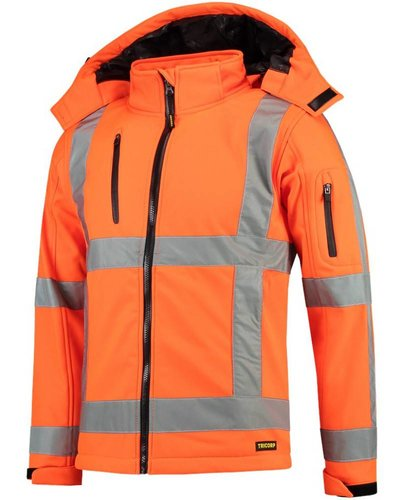 Tricorp TJR3001 Soft Shell Jas oranje