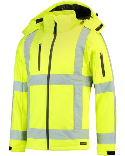 Tricorp TJR3001 Soft Shell Jas geel