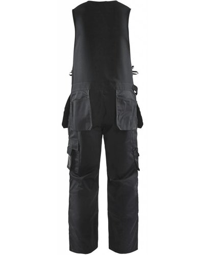 Blaklader Bodybroek 2650.1860 met losse spijkerzakken aan de voorzijde