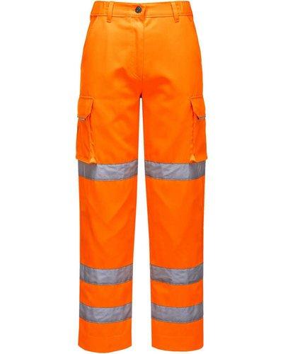 Portwest LW71 Dames Hi-Vis Werkbroek in geel of oranje