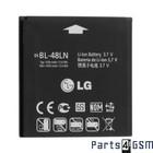 LG BL-48LN Batterij - Optimus 3D Max P720, EAC61700601   Bulk BW