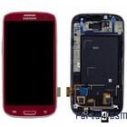 Samsung Lcd Display Module i9300 Galaxy S3 / S III, Rood, GH97-13630C