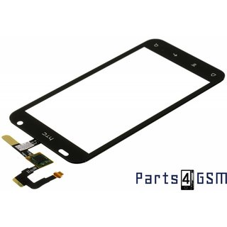HTC Rhyme S510b G20 Digitizer Touch Panel Outer Glass Black