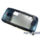 Nokia Lumia 610 Mid Cover Zwart 8002394 | Bulk 2/3