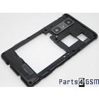 LG Optimus 3D Max P720 Mid Cover Black ACQ86009301