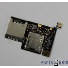 HTC Desire Simkaart, MicroSD Flex Connector | Bulk vk3 r1