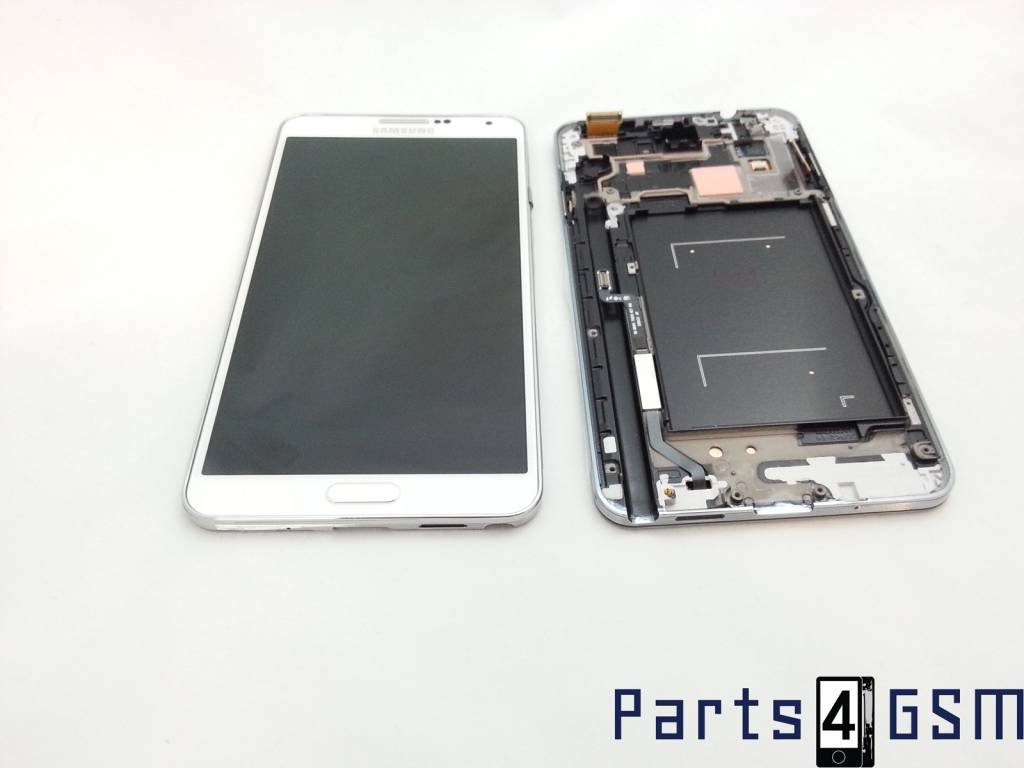 Samsung Galaxy Note 3 N9005 Lcd Display + Touchscreen + Frame White ...
