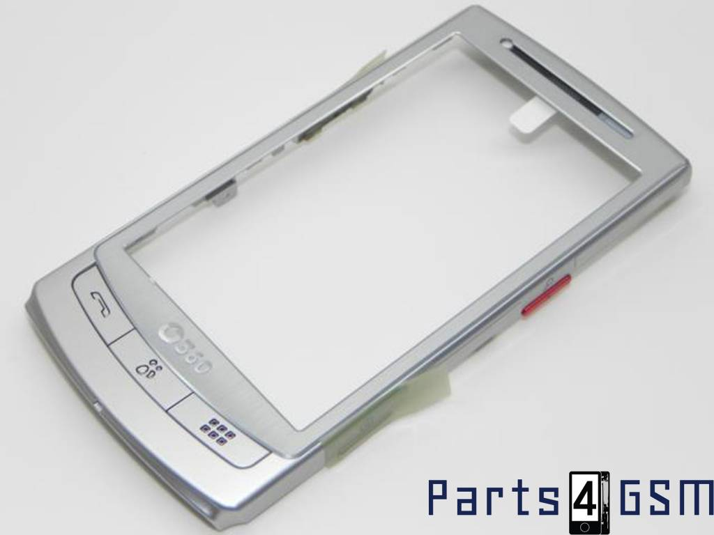 samsung gt i8320 h1 vodafone 360 front cover silver gh98 15337a rh parts4gsm com