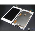 Sony Xperia L C2105 Internal Screen(LCD) + Touchscreen + Frame White 78P5320002N