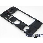Sony Xperia Sola MT27i Middle Cover 1252-1164 | Bulk 6/3
