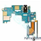 HTC One M7 UI Board Boven incl. Audio Jack + Volume Flex 51H10209-09M | Bulk 3/5