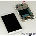 LG G2 D802 LCD Display + Touchscreen + Frame White ACQ86917702