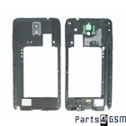 Samsung N9005 Galaxy Note III / Note 3 Middle Cover incl. Antenna + Loudspeaker Black GH96-06544A