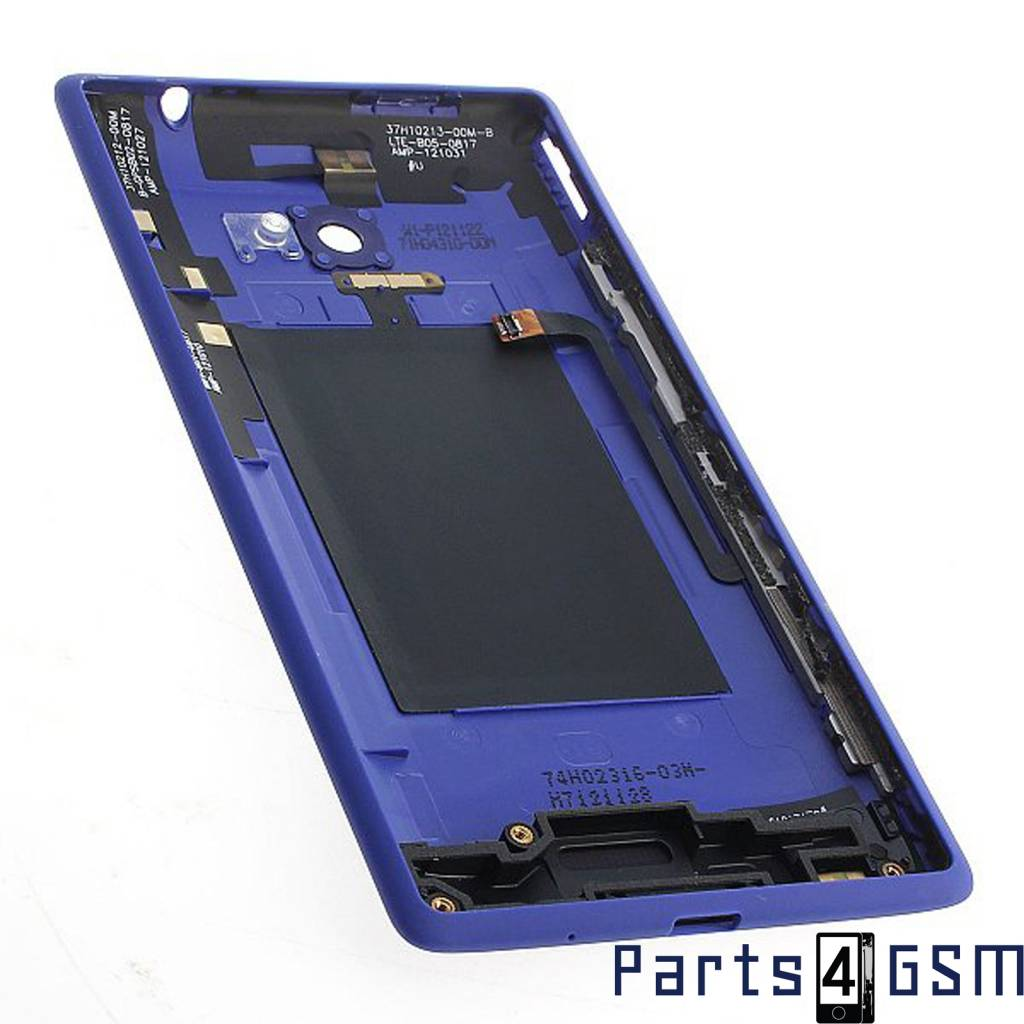 HTC Windows Phone 8X Battery Cover Blue 37H02317-01M  Bulk ...