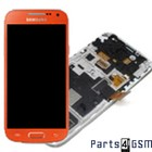 Samsung Lcd Display Module i9195 Galaxy S IV / S4 Mini, Oranje, GH97-14766H