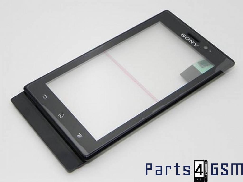 Sony Xperia Sola MT27i Touchscreen Display + Frame Module, Black ...