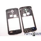 Samsung Middenbehuizing I9295 Galaxy S IV / S4 Active, Grijs, GH98-28008A