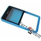 Nokia Front Cover Frame Asha 210, Blauw, 02503G7