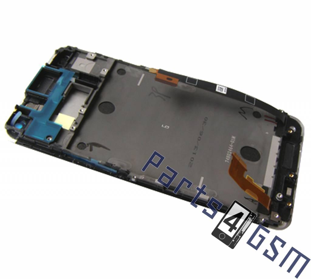 HTC One Dual Sim (M7 802w) LCD Display Module, White ...