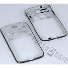 Samsung Middenbehuizing I9505 Galaxy S IV / S4, Deep Black, GH98-26374C