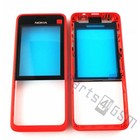 Nokia Front cover incl. Display Window 301, Red, 02506G6