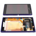 Sony Lcd Display Module Xperia M2 D2303, D2305, D2306, Paars, 78P7120005N