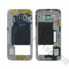 Samsung Middenbehuizing G925F Galaxy S6 Edge, zwart, GH96-08376A