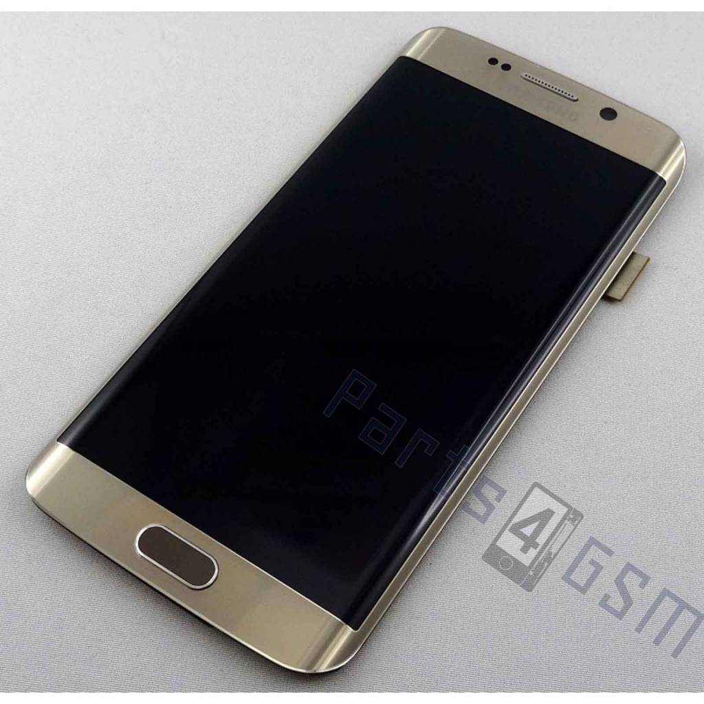samsung g925f galaxy s6 edge lcd display module gold gh97 17162c parts4gsm. Black Bedroom Furniture Sets. Home Design Ideas
