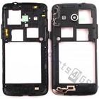 Samsung Mittel Gehäuse G386F Galaxy Core 4G, Schwarz, GH98-30926B