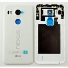 LG Akkudeckel H791 Nexus 5X, Weiß, ACQ88434811