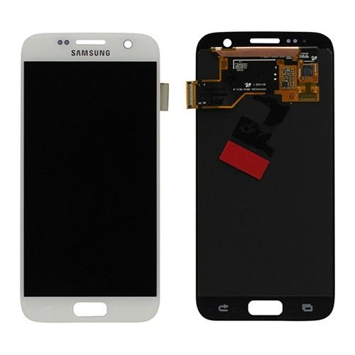 Samsung Lcd Display Module G930F Galaxy S7, Wit, GH97-18523D