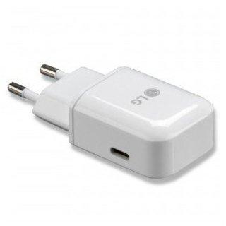 LG USB-Oplader, MCS-N04ER, Wit, 5.0V, 3.0A, EAY64290002
