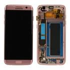 Samsung Lcd Display Module G935F Galaxy S7 Edge, Pink Gold, GH97-18533E