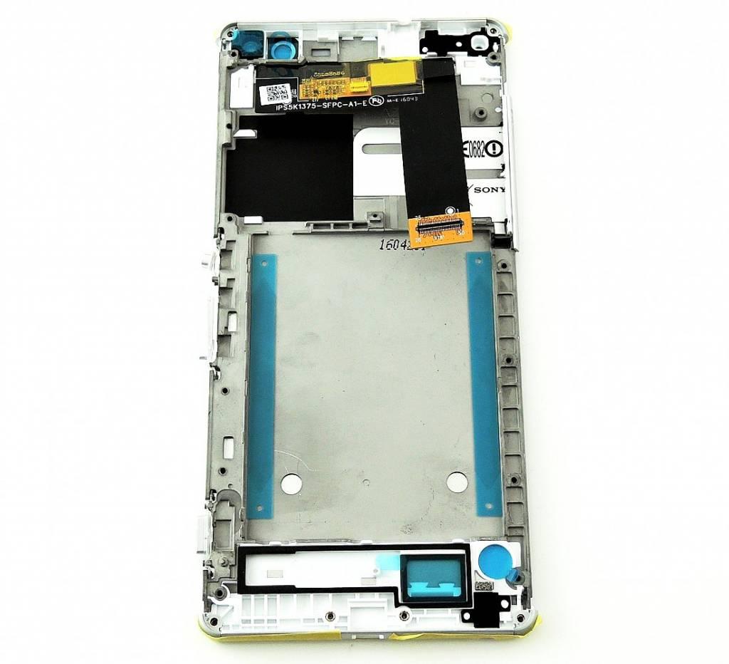 Sony Xperia C5 Ultra E5553 LCD Display Module, White, A/8CS-58880-0002