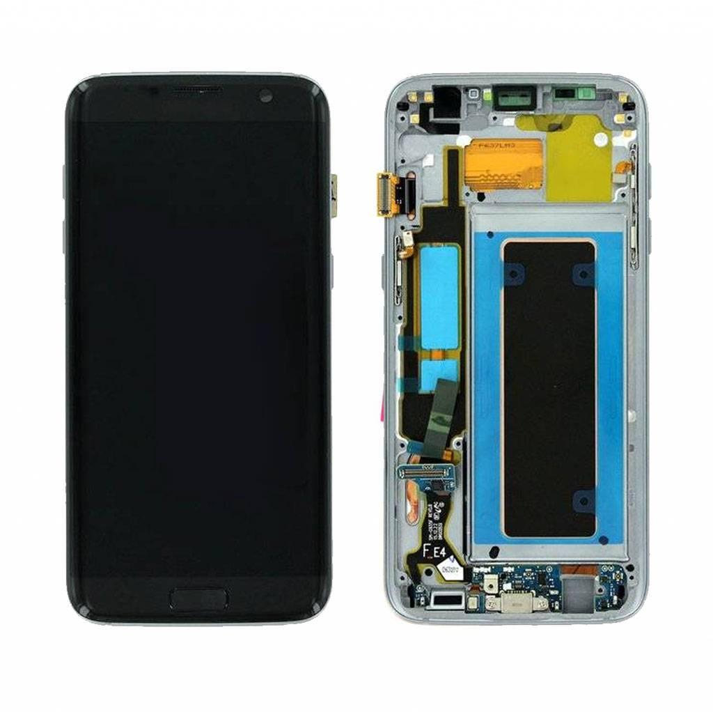 Samsung Lcd Display Module G935F Galaxy S7 Edge, Zwart, GH97-18533A