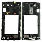 LG Middenbehuizing H525N G4c, Titaan, ACQ87831951, For Titan Phone
