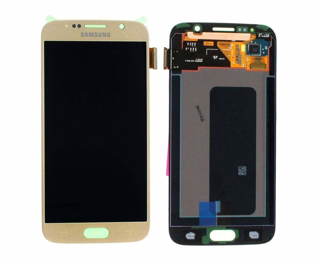 Samsung Lcd Display Module G920F Galaxy S6, Goud, GH97-17260C