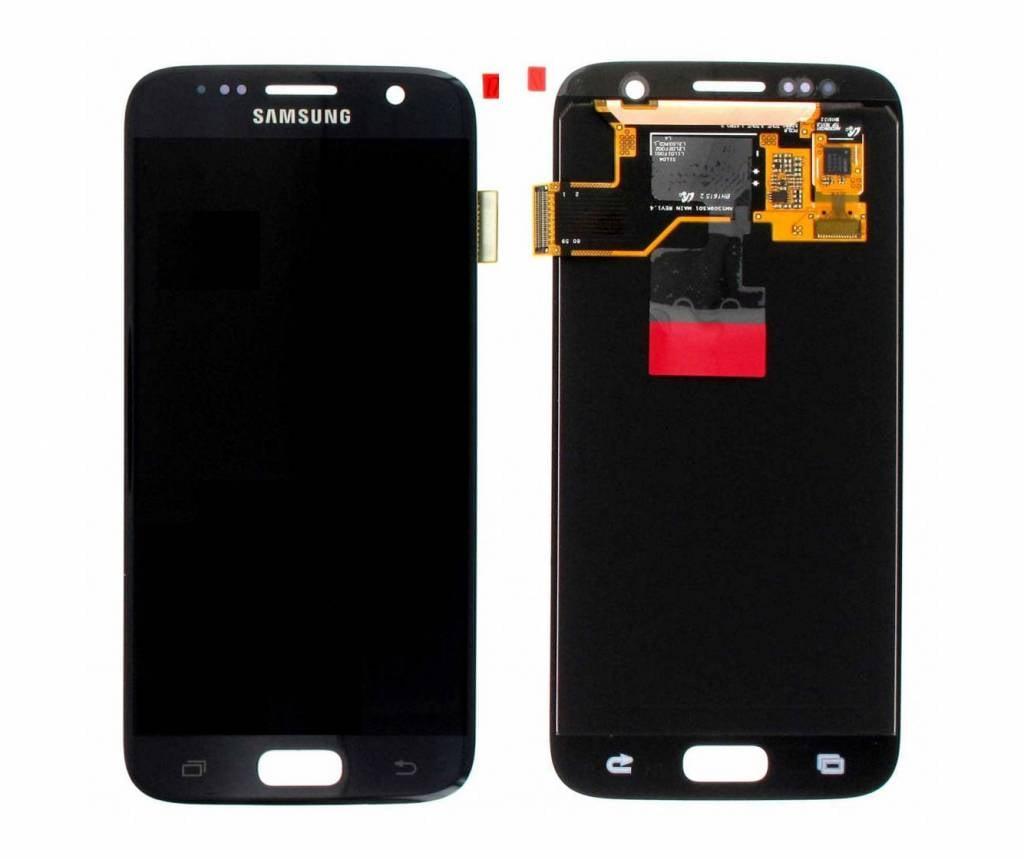 Samsung LCD Display Module G930F Galaxy S7, Black, GH97-18523A;GH97-18761A