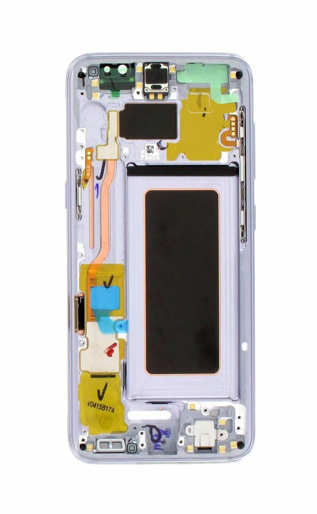 Samsung G950f Galaxy S8 Lcd Display Module Orchid Gray Gh97 20457c
