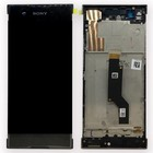 Sony Xperia XA1 G3121 LCD Display Module + Touch Screen Display + Frame, Zwart, 78PA9100020;78PA9100060
