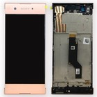 Sony Xperia XA1 G3121 LCD Display Module + Touch Screen Display + Frame, Roze, 78PA9100030;78PA9100070