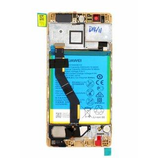 Huawei P9 Plus (VIE-AL10B) LCD Display Module, Gold, 02350SUQ;02350SUW