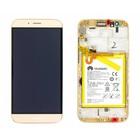 Huawei Lcd Display Module G8 (RIO-L01), Goud, 02350MXA
