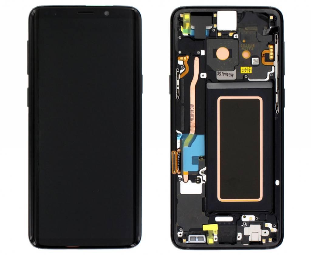 Samsung G960F Galaxy S9 LCD Display Module, Midnight Black/Zwart, GH97-21696A