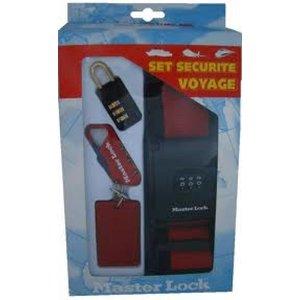 Masterlock Koffer Bagage Veiligheidsset